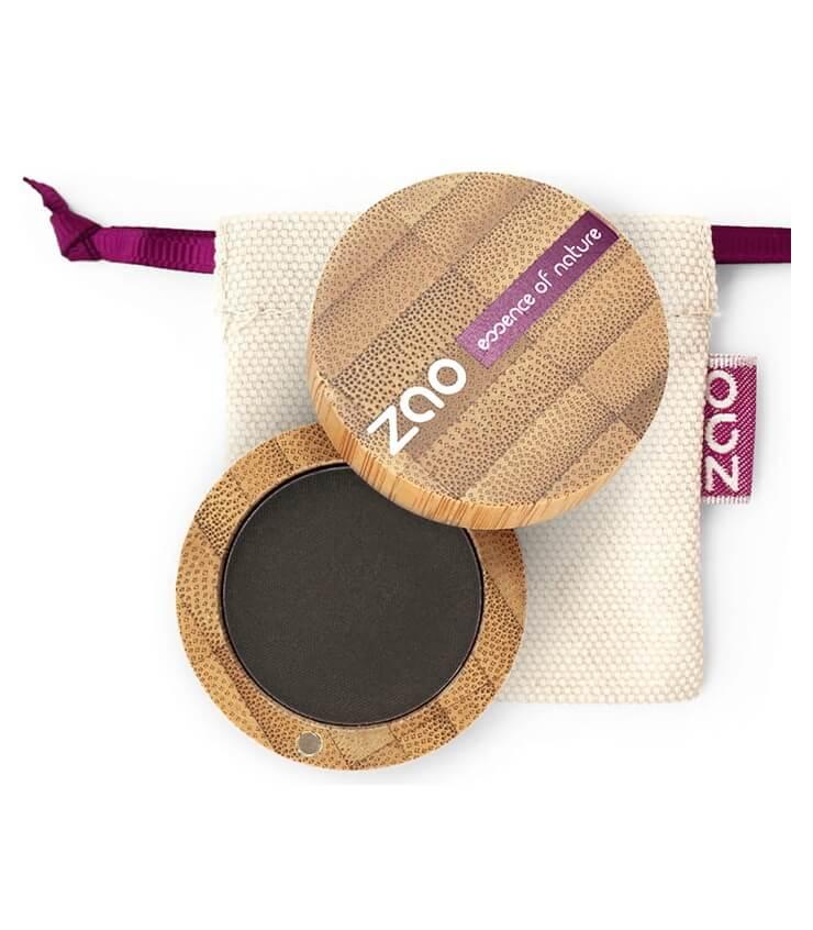 Fard à paupière Mat Bio Vegan - 206 noir - Zao Makeup