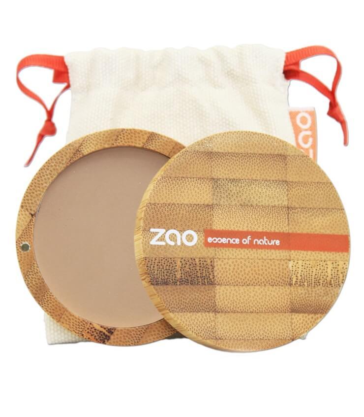 Poudre compacte Bio et Vegan - 304 capuccino - Zao Maquillage