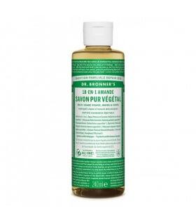 Savon liquide Amande 18-1 Dr Bronner's 240ml