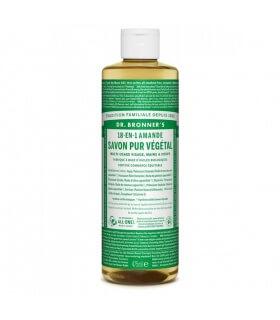 Savon liquide Amande 18-1 Dr Bronner's 475ml