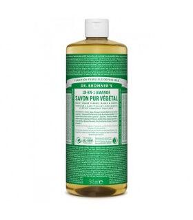 Savon liquide Amande 18-1 Dr Bronner's 945ml