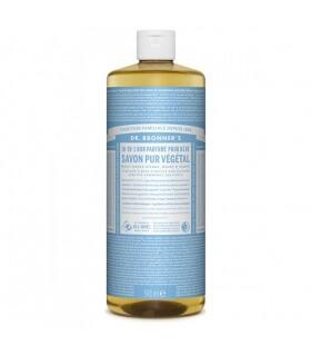 Savon liquide non parfumé 18-1 Dr Bronner's 945ml