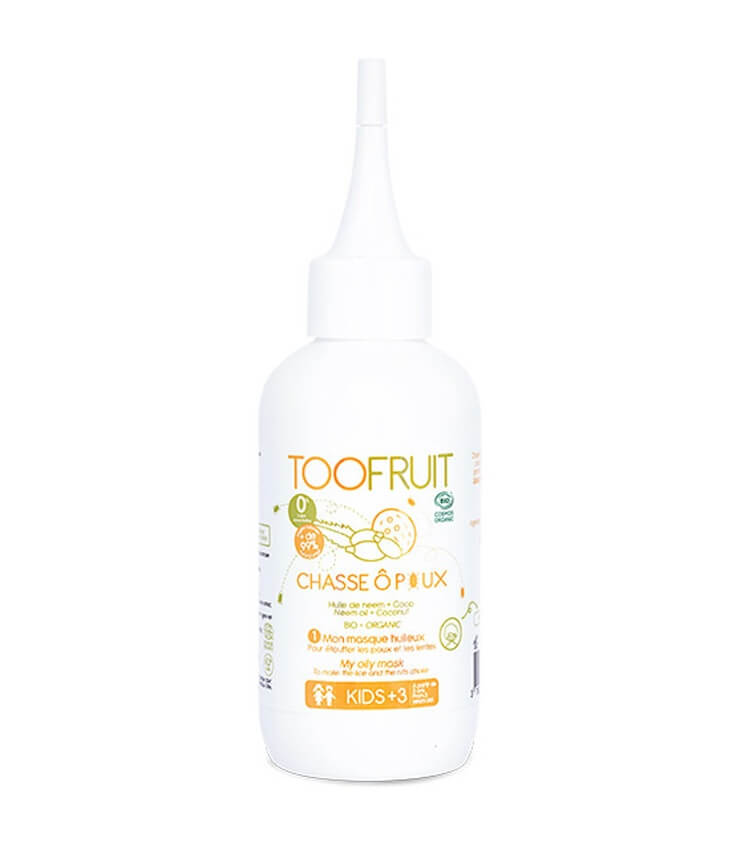 Masque huileux Anti-poux Chasse Ô Poux - Toofruit
