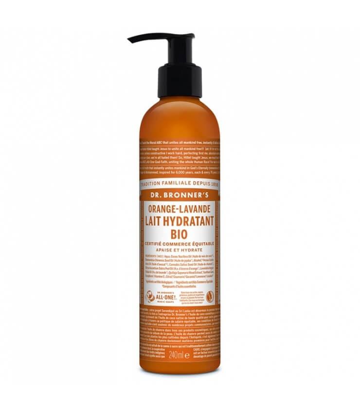 Lait Hydratant Orange-Lavande Dr Bronner's