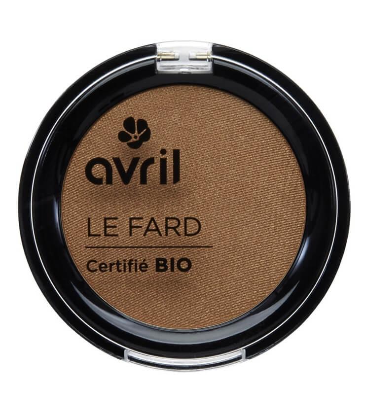 Fard à paupières Certifié bio - Noisette Irisé - Avril cosmétique