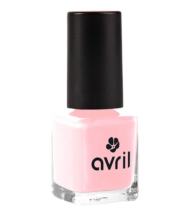 Vernis à ongles Certifié bio - Rose Dragée - Avril