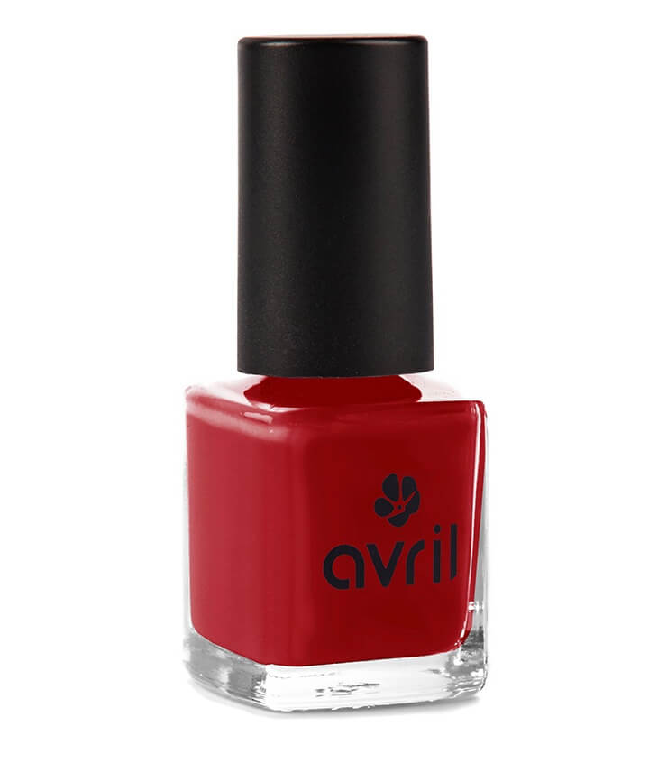 Vernis à ongles Certifié bio - Rouge Opéra - Avril