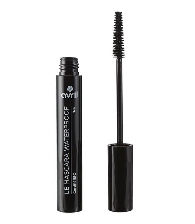 Mascara Waterproof Noir Certifié bio - Avril