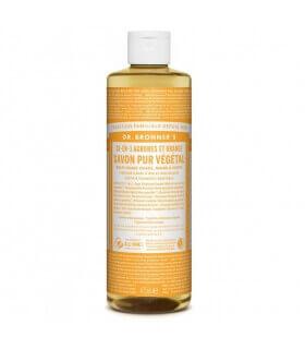 Savon liquide Agrumes-Orange 18-1 Dr Bronner's 475ml