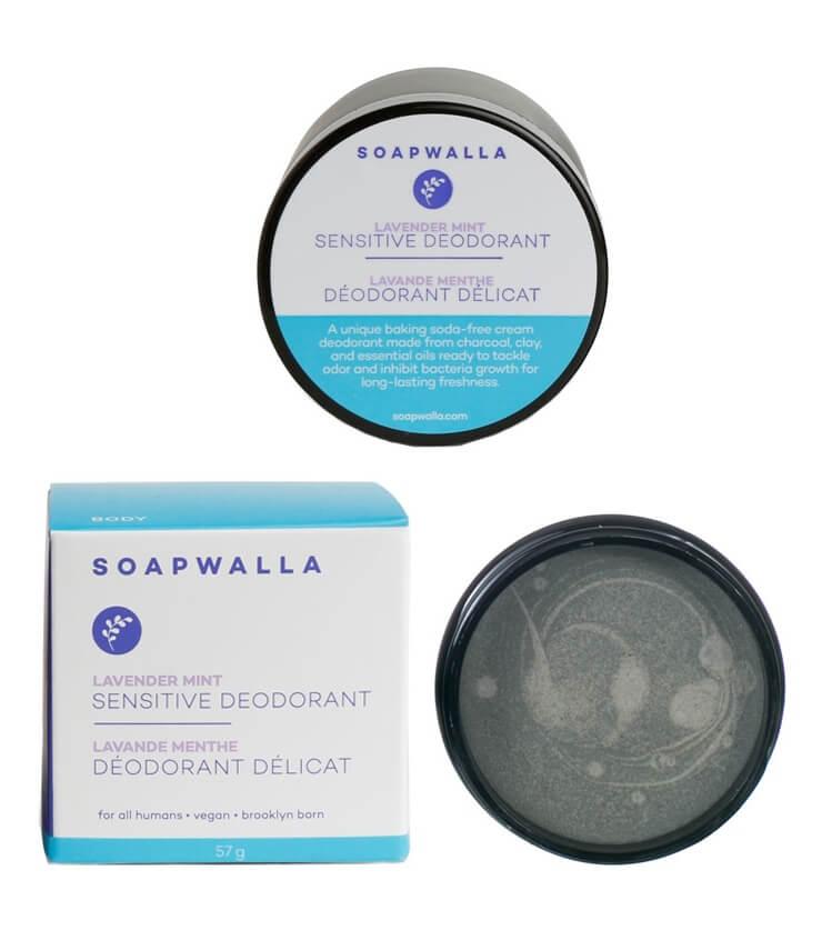 Déodorant Crème Délicat Lavande Menthe - Soapwalla
