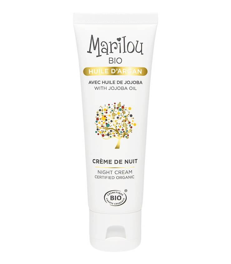 Crème de nuit à l'huile d'Argan Marilou Bio