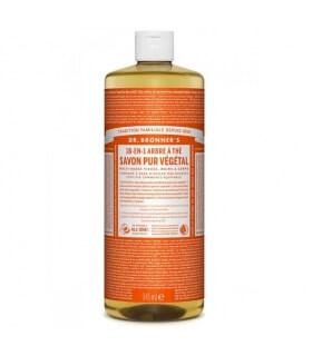 Savon liquide Arbre à Thé 18-1 Dr Bronner's 945ml