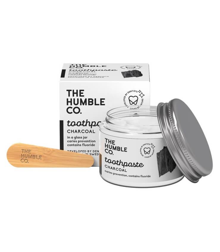 Dentifrice naturel au Charbon en bocal - The Humble Co