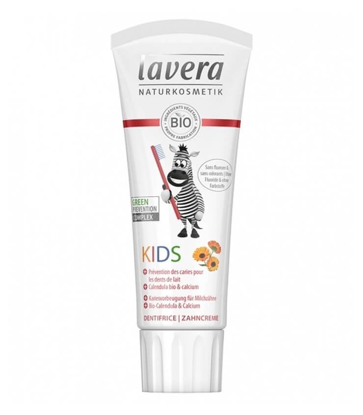 Dentifrice Bio Kids Calendula et Calcium - Lavera