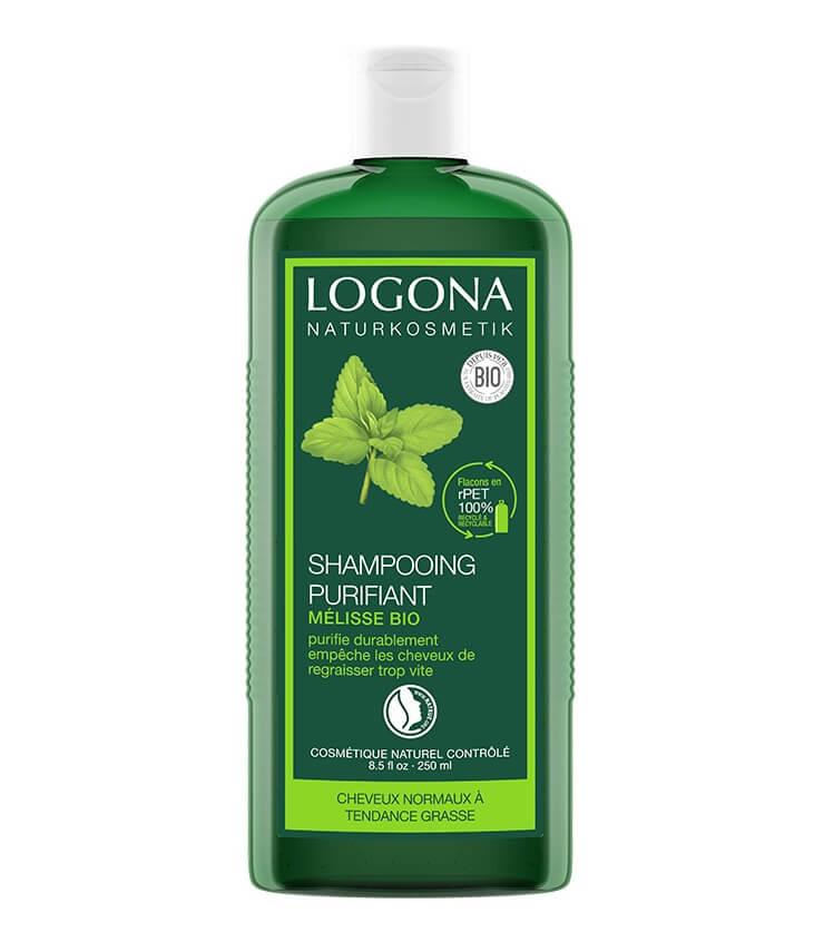 Shampoing liquide Bio Purifiant à la Mélisse - Logona