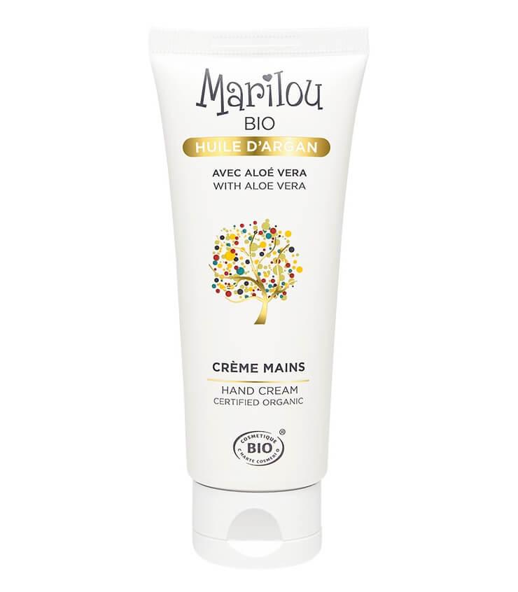 Crème Mains bio à l'Huile d'Argan - Marilou Bio
