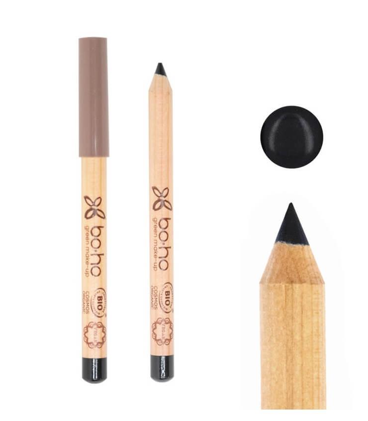 Crayon pour les Yeux noir Bio - Boho Green