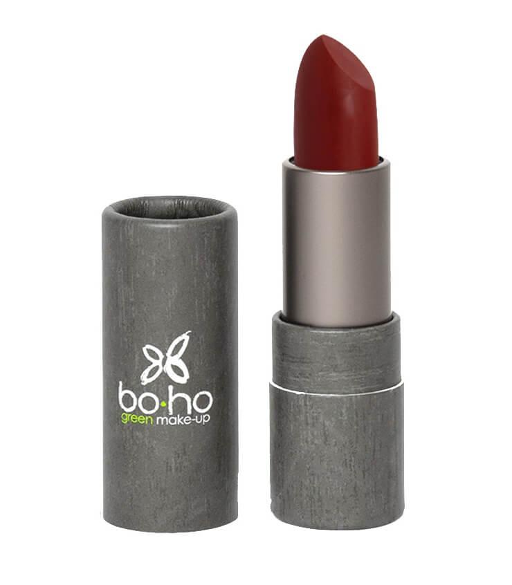 Rouge à lèvres bio mat couvrant 105 Tapis rouge - Boho Green