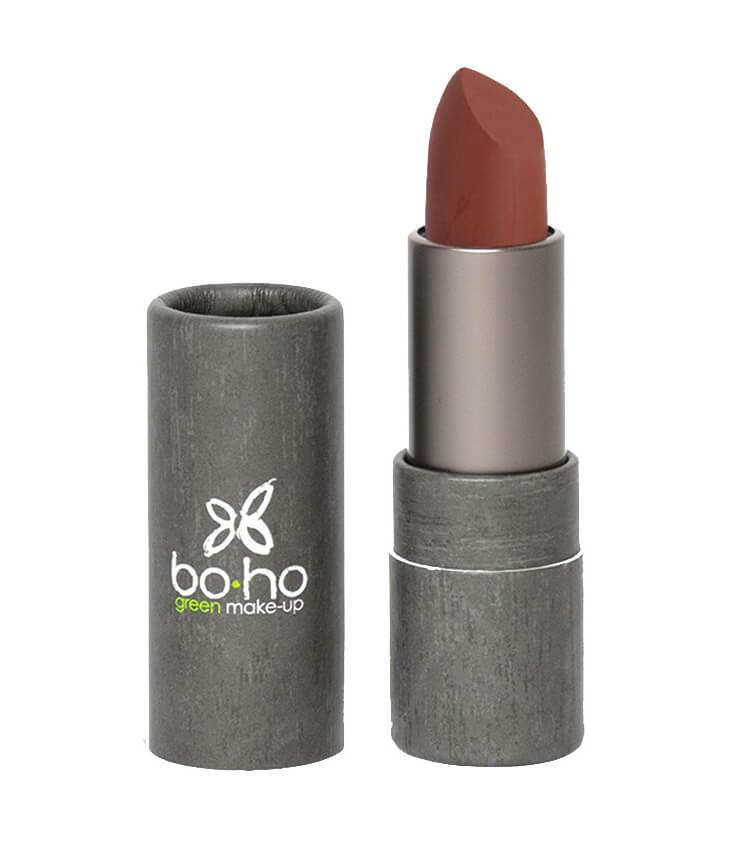 Rouge à lèvres bio mat couvrant 107 Lin - Boho Green