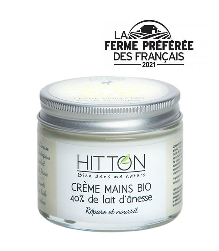 Crèmes pour les Mains bio au Lait d'Ânesse - La Ferme du Hitton
