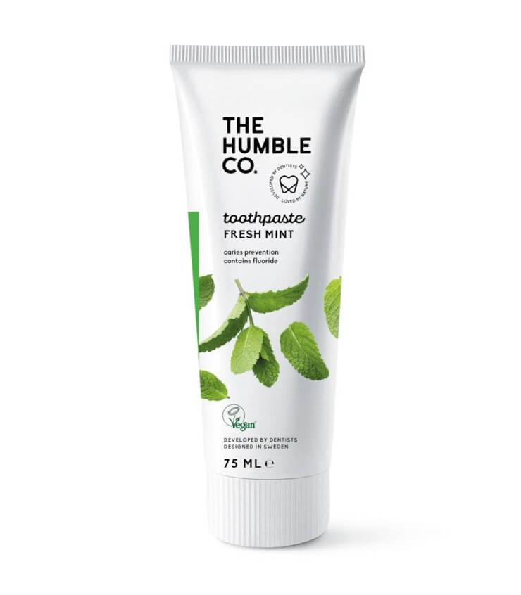 Dentifrice naturel Menthe Fraîche - The Humble Compagny