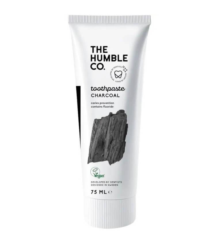 Dentifrice naturel au charbon - The Humble Co.