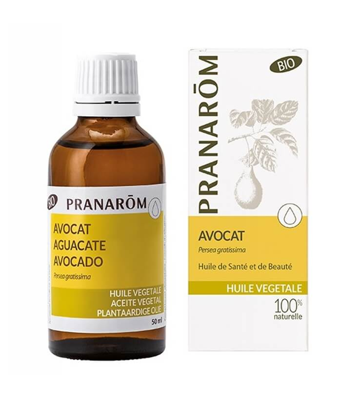 Huile Végétale d'Avocat Bio - Pranarôm