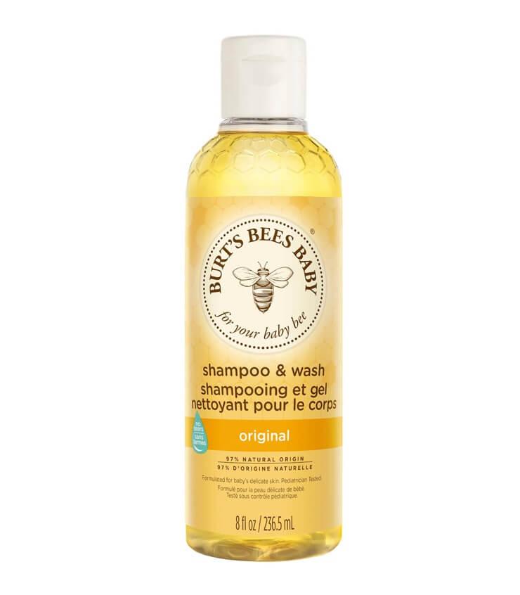 "Burt's Bees Baby Bee Tear Free Shampoo & Wash Shampoing & Bain-Douche ""Sans Larmes"" Baby Bee"