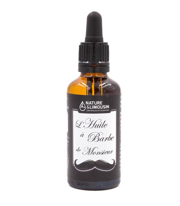 L'Huile à barbe bio de Monsieur - Nature et Limousin