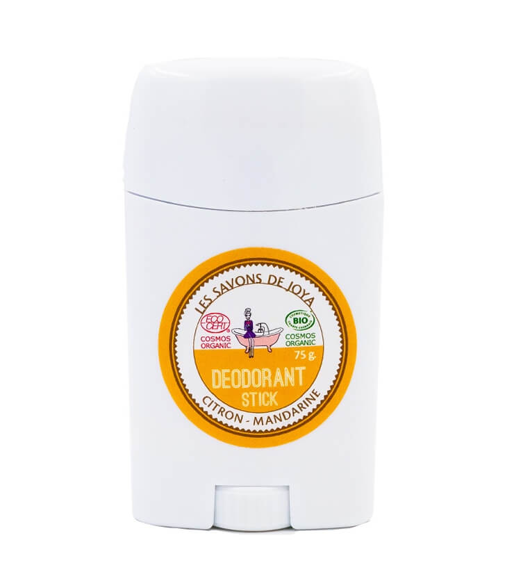 Déodorant stick Citron Mandarine - lessavonsdejoya