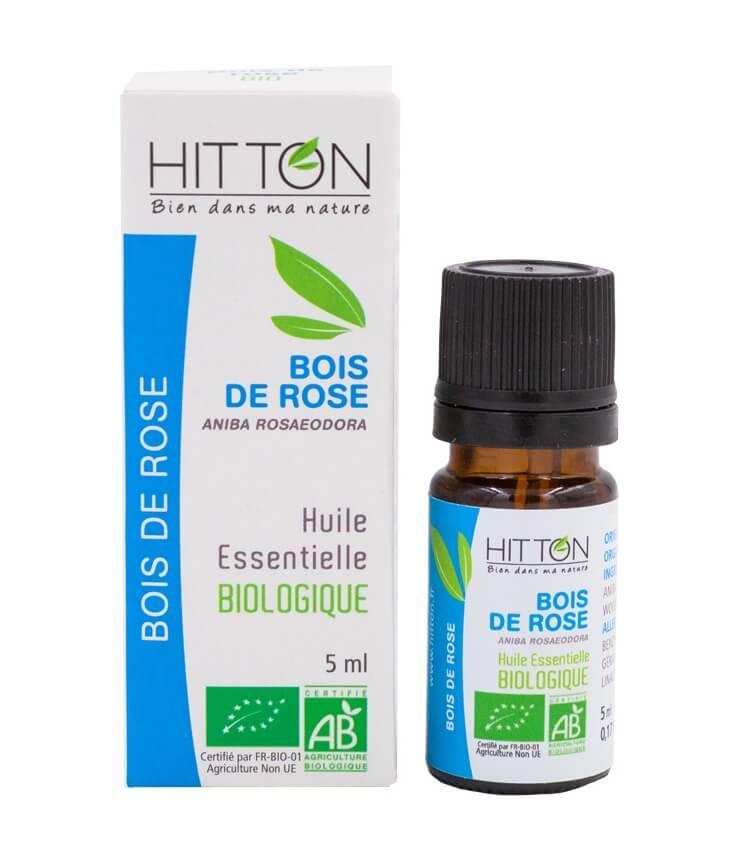 Huile Essentielle Bois de Rose Bio - Ferme du Hitton