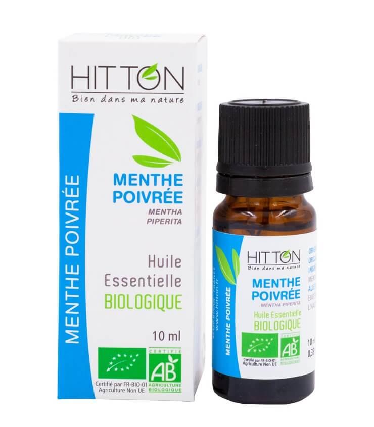Huile Essentielle Menthe Poivrée Bio - Ferme du Hitton