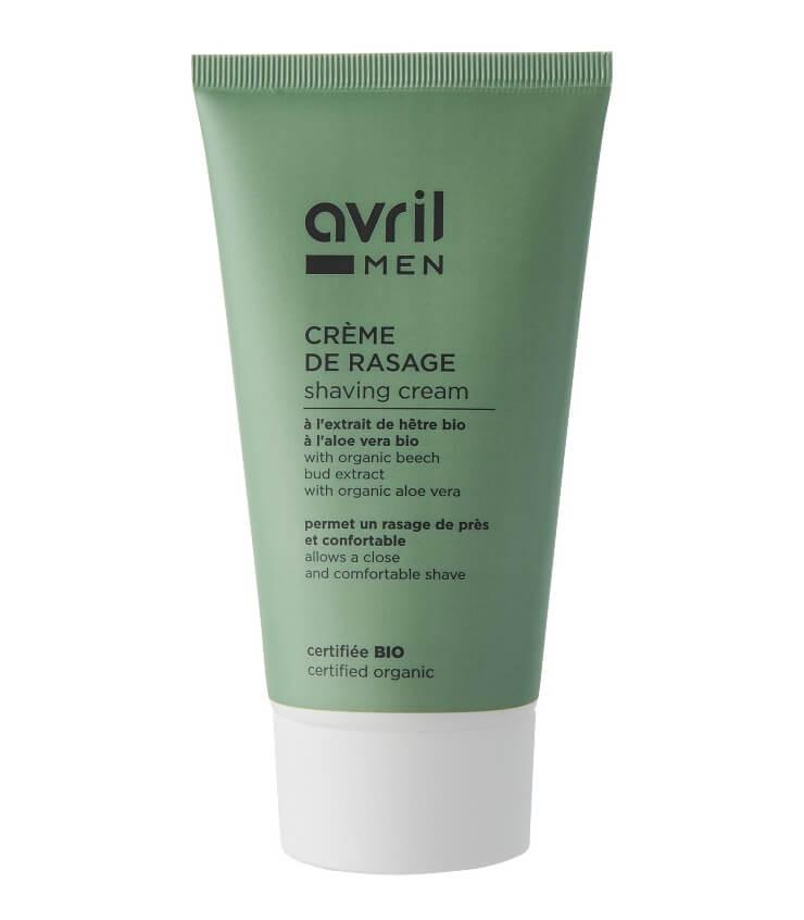 Crème de rasage Bio pour Homme - Avril