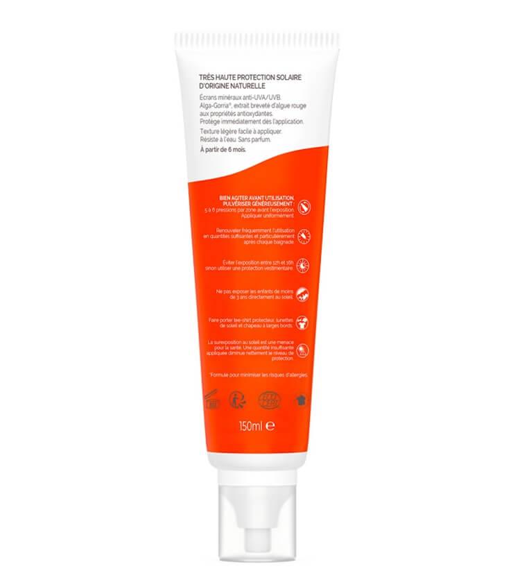 Spray solaire SPF50+ Famille certifié Bio - Laboratoire de Biarritz