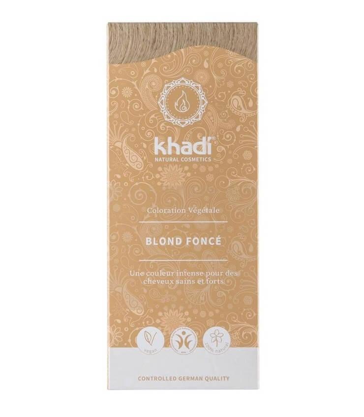 Coloration Végétale Blond Foncé - Khadi