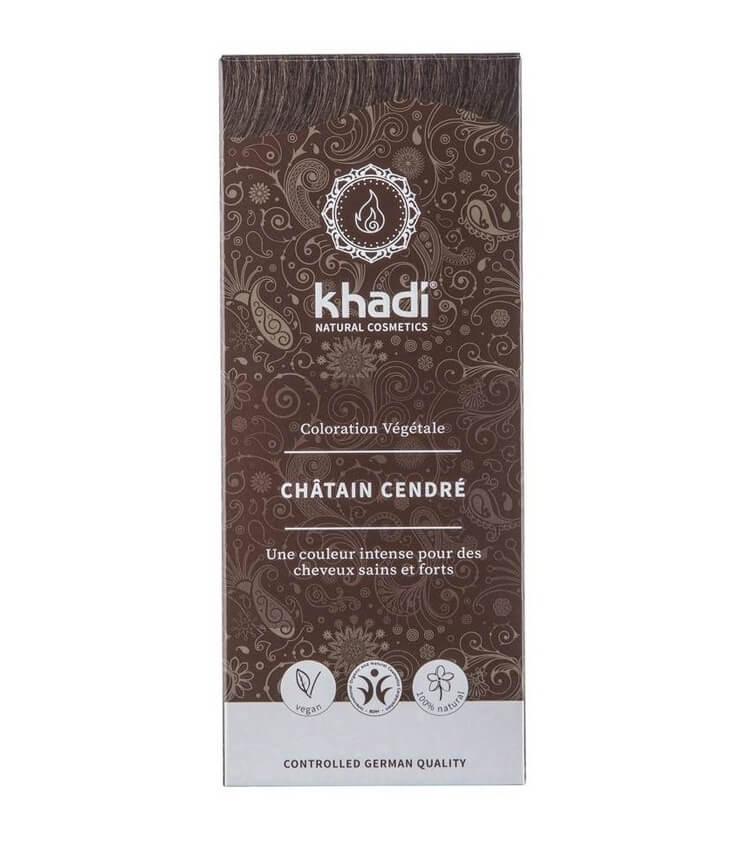 Coloration Végétale Chatain Cendré - Khadi