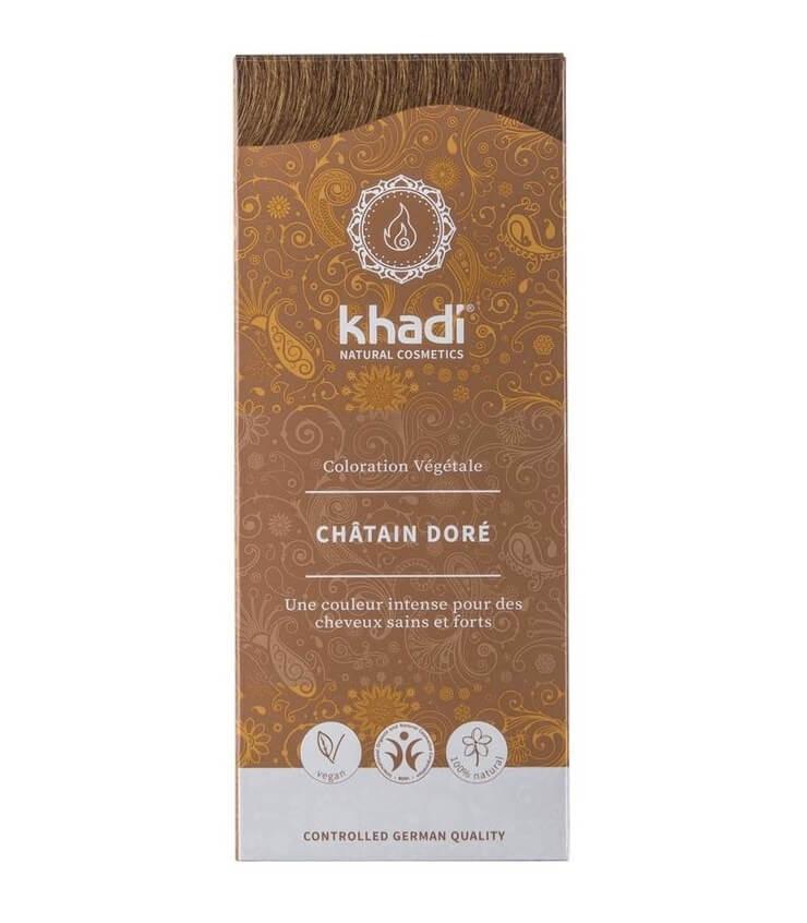 Coloration Végétale Châtain Doré - Khadi