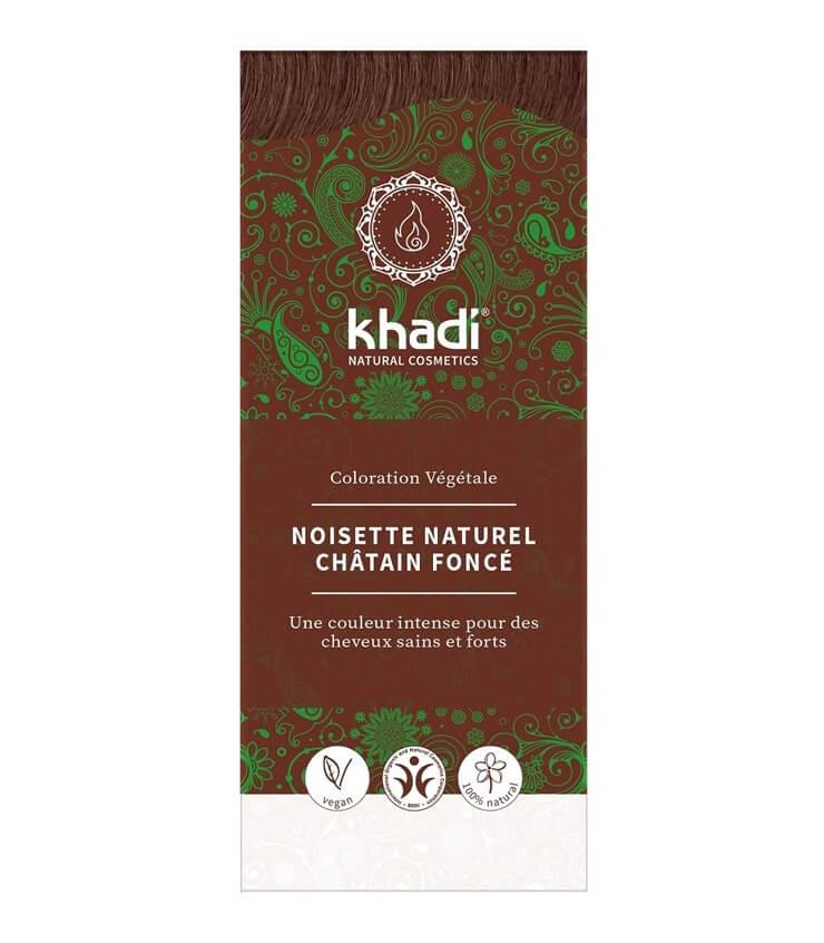 Coloration Végétale Noisette naturel - Khadi