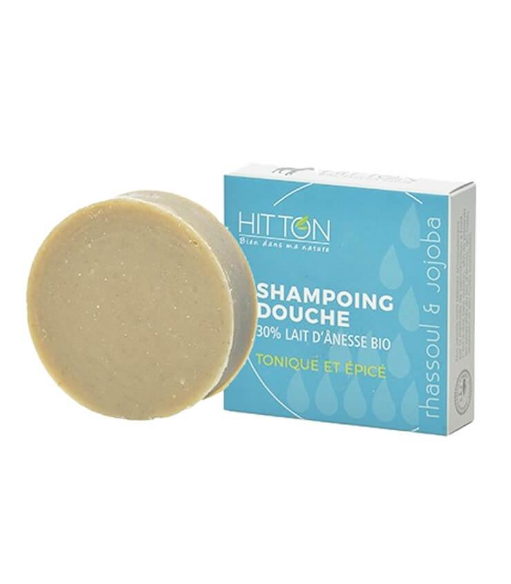 Shampoing Cheveux Gras au lait d'ânesse Bio - Ferme du Hitton