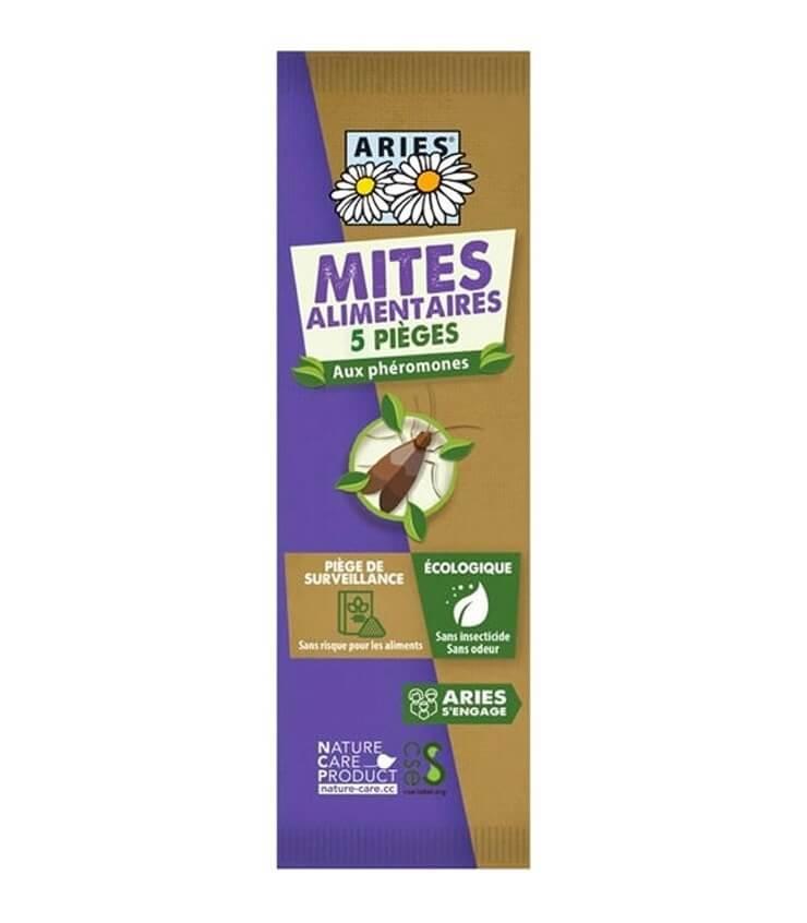 Pièges à Mites Alimentaires écologique - Aries