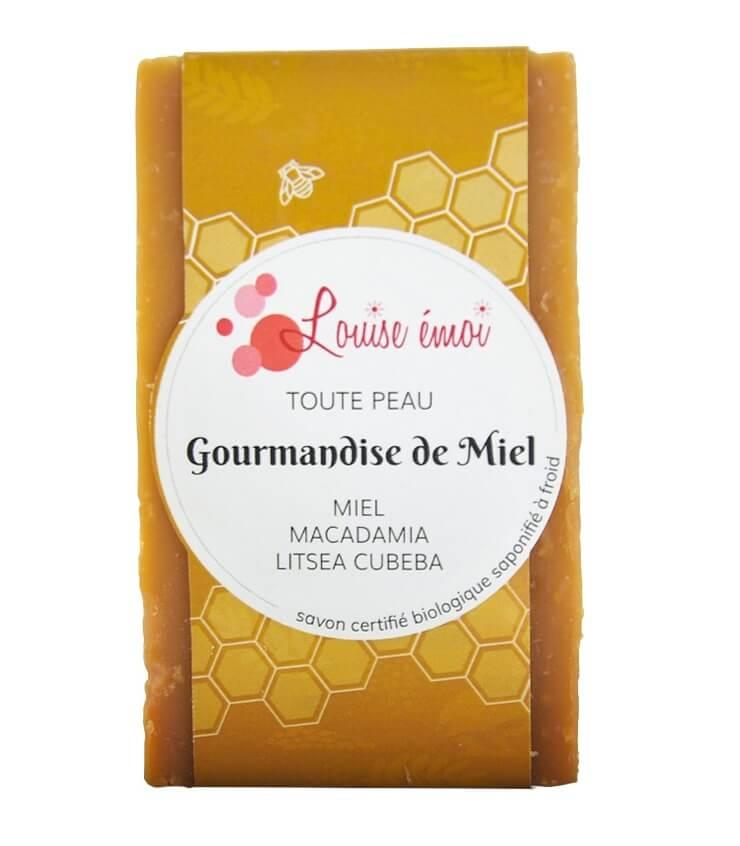 """Savon naturel surgras au miel """"Gourmandise de Miel"""" de Louise Emoi"""