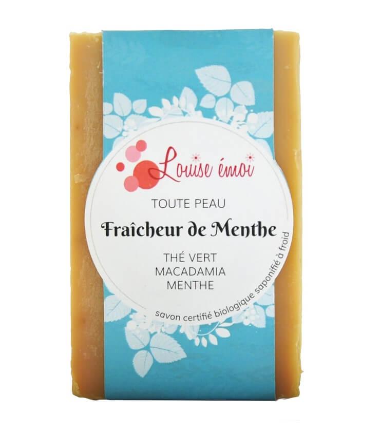 """Savon naturel SAF """"Fraîcheur de Menthe"""" de LouiseEmoi"""