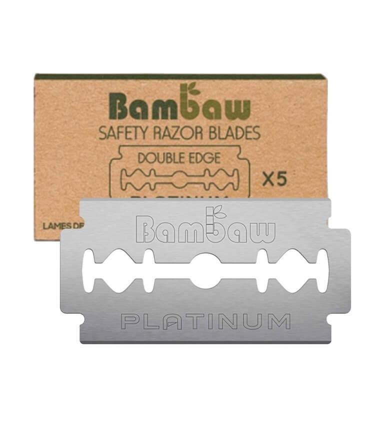 5 Lames de rasoir de sûreté - Bambaw