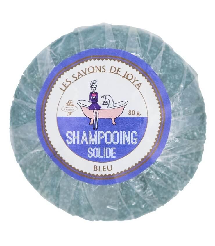 Shampoing solide Bleu Cheveux Blancs / Gris - Savons de Joya