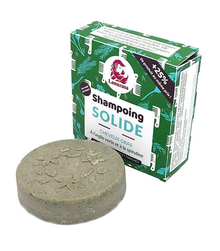 Shampoing cheveux gras Spiruline - Lamazuna