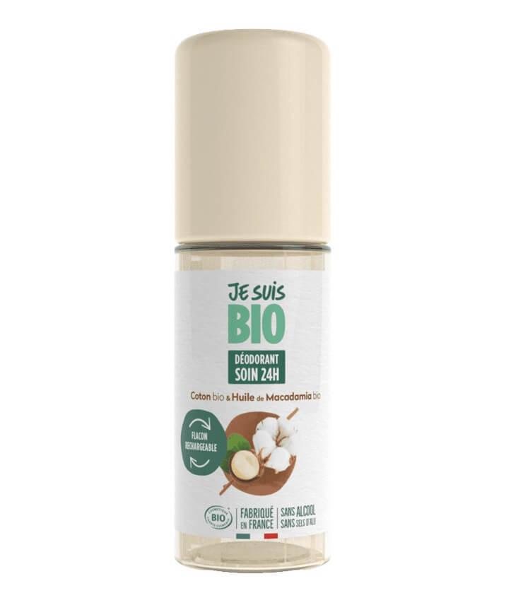Déodorant roll-on Coton huile macadamia - Je Suis Bio