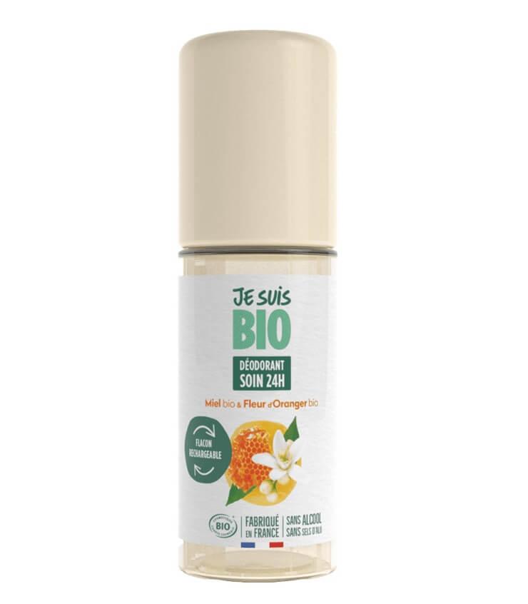 Déodorant roll-on Miel Fleur d'Oranger - Je Suis Bio