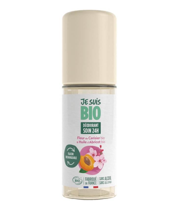 Déodorant roll-on Fleur Cerisier Abricot - Je Suis Bio