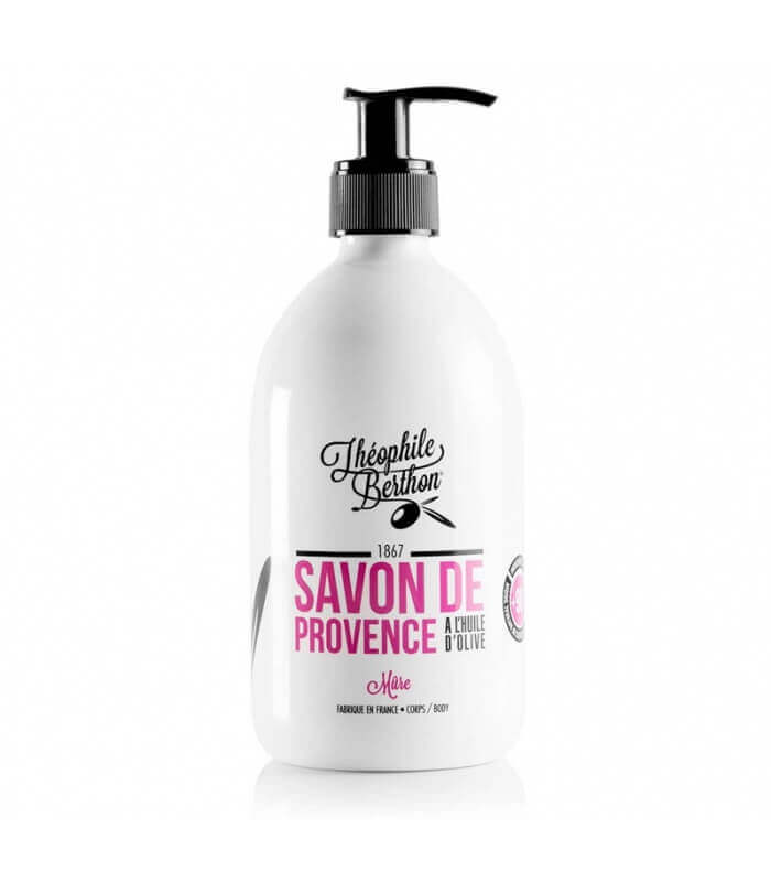 Savon de Provence surgras Huile d'Olive et Mûre - Théophile Berthon