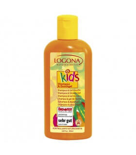 Shampoing Gel Douche Kids 200ml Logona
